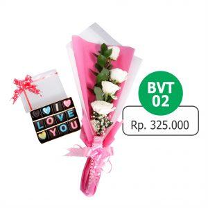 BVT 021 300x300 Toko Bunga Valentine Mawar Murah Online