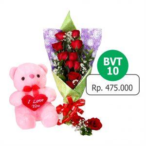 BVT 101 300x300 Toko Bunga Valentine Mawar Murah Online
