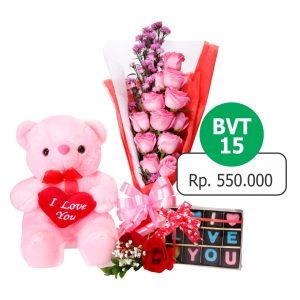 BVT 151 300x300 Toko Bunga Valentine Mawar Murah Online