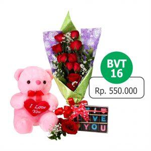 BVT 161 300x300 Toko Bunga Valentine Mawar Murah Online