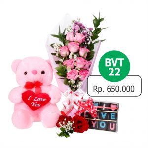 BVT 221 300x300 Toko Bunga Valentine Mawar Murah Online