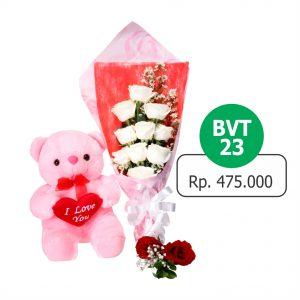BVT 231 300x300 Toko Bunga Valentine Mawar Murah Online