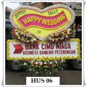 HUS 06 1jt 300x297 Bunga Ucapan Pernikahan Wedding di Bekasi