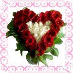 rangkaian love 150x150 Jual Bunga Ucapan Ulang Tahun