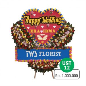 Toko Jual Bunga Papan Happy Wedding Di Jakarta Barat