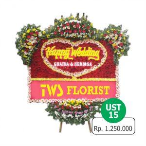 UST 15 300x300 Toko Jual Bunga Papan Happy Wedding Di Jakarta Timur