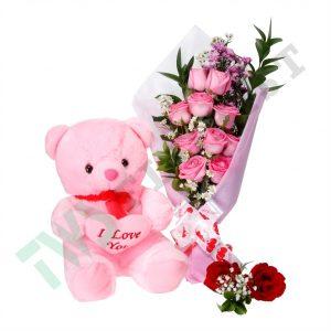 Hadiah Buket Bunga Dan Boneka Valentine Di Jakarta