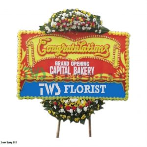 Bunga Papan Ucapan Selamat TWS Florist 241 300x300 Toko Jual Bunga Congratulations Di Cikarang Jababeka Murah