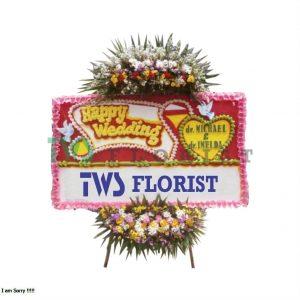 Bunga Papan Ucapan Selamat TWS Florist 06 300x300 Toko Bunga di Karawang Murah Online