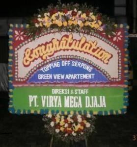 UST 13 Jual Bunga Papan Congratulation Di Karawang Murah